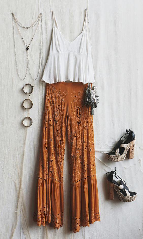Summer Bohemian fashion inspiration