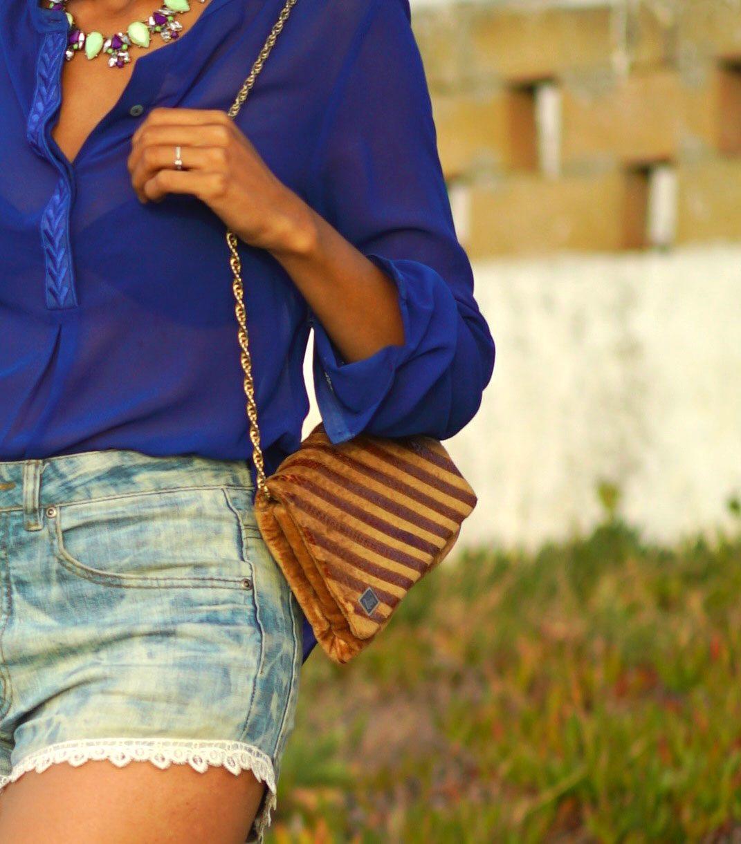Summer series: Denim & lace shorts