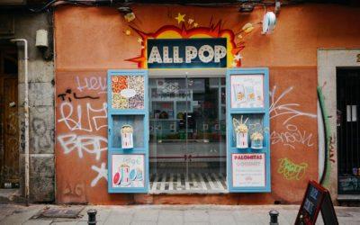 Madrid hipster neighbourhood: Malasaña